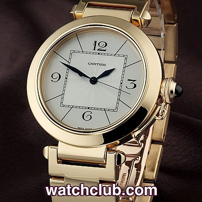 Cartier Gold Pasha Watch Cartier Pasha 42mm Yellow Gold
