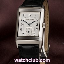 "Jaeger-leCoultre Reverso Duo Steel - ""Day/Night"""