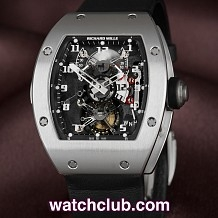 Richard Mille Tourbillon GMT - Platinum