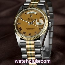 Rolex Day-Date Tridor - 18ct Gold Full Set